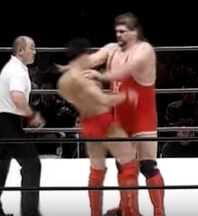 第15戦目プロレス  Uインター 1991年12月22日 両国国技館  田村潔司vsゲーリー・オブライト