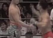 第24戦目プロレス Uインター 1992年8月28日 後楽園ホール 田村潔司vs安生洋二