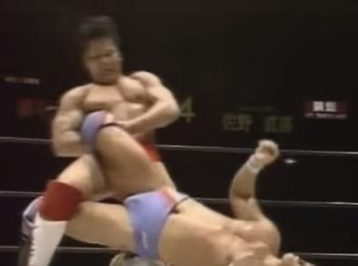 第29戦目 田村潔司vs佐野直喜 プロレス Uインター  1993年5月6日 日本武道館