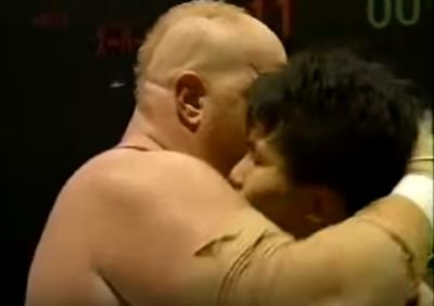 第37戦目  田村潔司vsスーパー・ベイダー  Uインター  プロレス  1994年6月10日日本武道館
