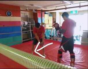 【田村潔司】キックボクシング・総合格闘技 ローキック(内側)のカット(防御)のやり方