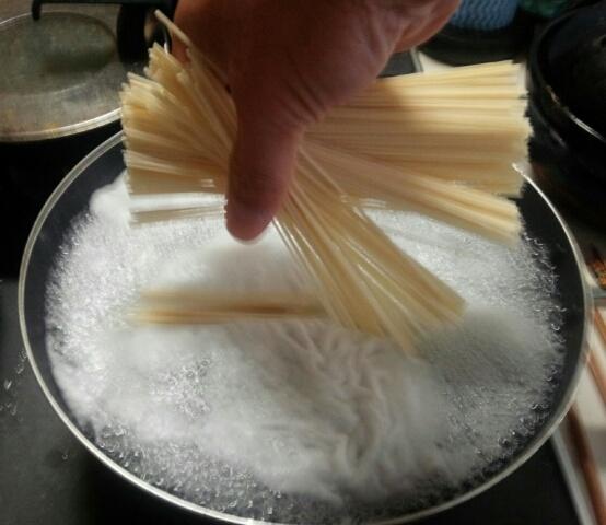 「佐藤養助 稲庭うどん」シンプル調理方法。