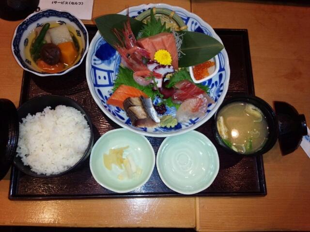 【孤高のグルメ】日本海庄や「豪快さしみ定食」高得点!!