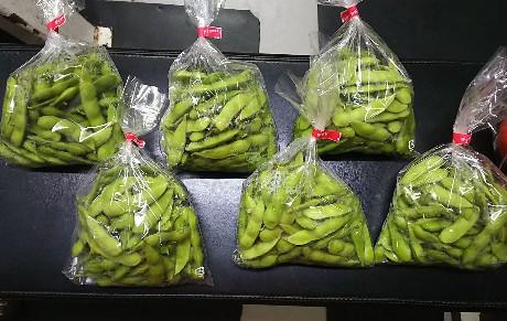 NKHR君【採れたて】「枝豆」&「トマト」【動画あり】20200624